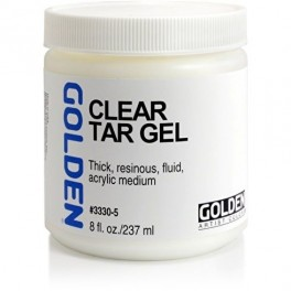 GOLDEN Clear Tar Gel 237ml.