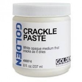 GOLDEN Crackle Paste 237ml.