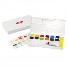 Derwent Inktense Akvarelsæt (12 half pans)