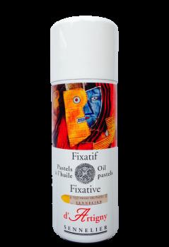 Sennelier, Fixativ spray, olie pastel, 400 ml