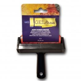 Gel Press gummirulle, hård, 10,16 cm