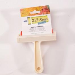Gel Press gummirulle, hård, 10 cm