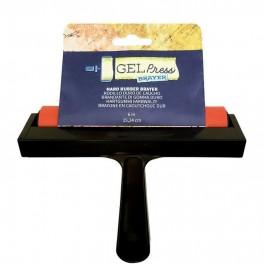 Gel Press, gummirulle, hård, 15,24 cm