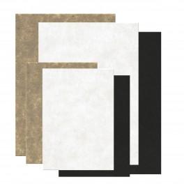 Kardus papir, farve og størrelses mix