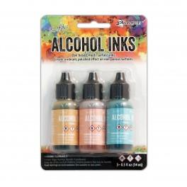 Ranger Alkohol ink Kit, 3 stk., Lakeshore. FAST LAVPRIS