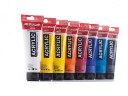 AMSTERDAM akrylmaling - 120 ml. FAST LAVPRIS