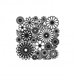 TCW, Stencil, 15x15, Mini Flower Frenzy