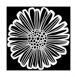 TCW, Stencil, 30x30, Felicia Daisy