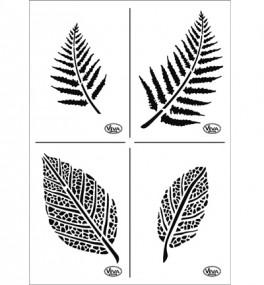 Stencil, Leaves