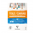 Canvas blok, Polycotton, 200 g,10 ark