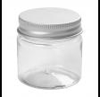 Plastdåse med låg, 50 ml, 10 stk.