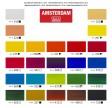 Amsterdam - Standardsæt, Akryl maling, 20 ml