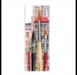 da Vinci, akvarel pensler, sæt, 4 stk