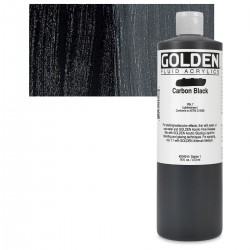 GOLDEN Fluid 473ml. Carbon Black