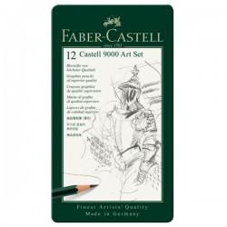 Faber Castell, Grafit blyant sæt, 12 stk