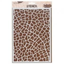 """Stencil, 21 x 30 cm. """"Leaf vein"""""""