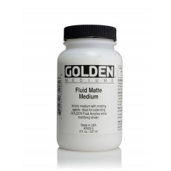 GOLDEN Fluid Matte Medium 473ml