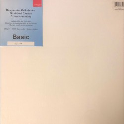Basic lærred, 40 x 40 cm