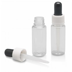 Pipette flaske, 20 ml. plast, 2 stk. (tom)