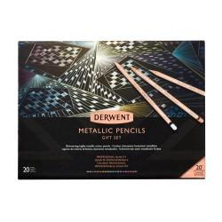 Derwent Metallic farveblyanter, gavesæt, 20 stk.