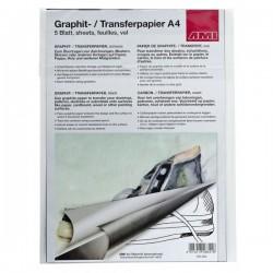 Grafit-/Transferpapir A4, sort