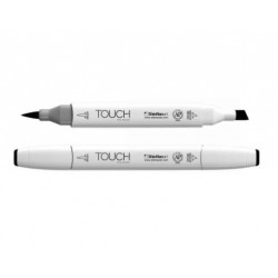 TOUCH Twin marker, Alcohol Ink, fv. 120 black (white-brush)