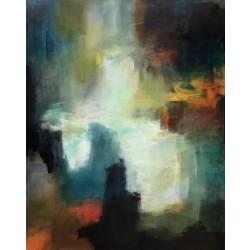 Mette Lorentzen, 3 dage med abstrakt og portræt, 22. - 24. oktober