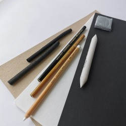 Gavesæt - Kul, Kul Sketch sæt + kardus papir
