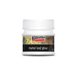 Lim til slagmetal og bladguld, 50 ml.