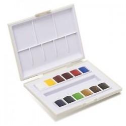 Sennelier Akvarelsæt, studio (12 half-pans)
