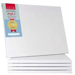 PROFI 2, lærred, 1,7 cm, hvid