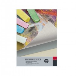 Pastelpapir, blok, 160gr, 20 ark