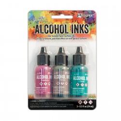 Ranger Alkohol ink Kit, 3 stk., Valley Trail. FAST LAVPRIS