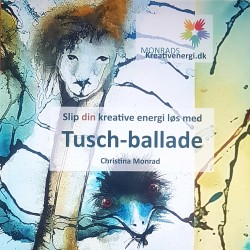 Christina Monrad, Tusch-ballade, bog